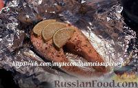 Фото к рецепту: Рыбный обед/ужин для ленивых