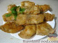Фото к рецепту: Жареное филе пангасиуса