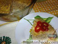 Фото к рецепту: Запеченный форшмак из телятины с сельдью