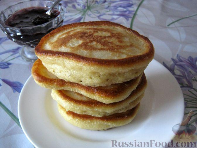 Рецепт Оладушки на кефире без яиц
