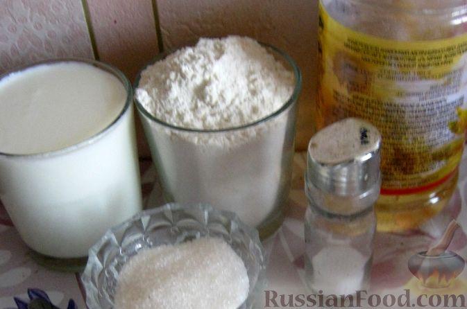 Рецепт оладушек на кефире пышные на дрожжах рецепт