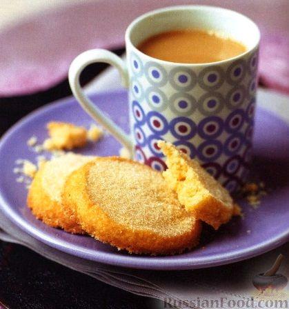 Рецепт Золотистое песочное печенье