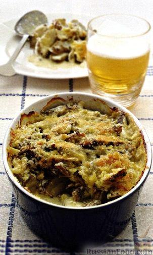Рецепт Артишоки, запеченные в сметанном соусе