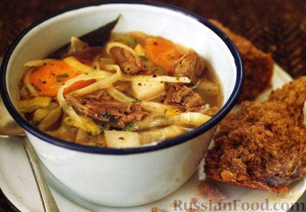 Рецепт Овощной суп с бараниной