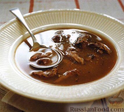 Рецепт Суп-бульон из бычьего хвоста