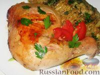 Фото приготовления рецепта: Куриные окорочка, маринованные в кефире - шаг №4