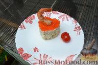 Фото к рецепту: Оливье с креветками
