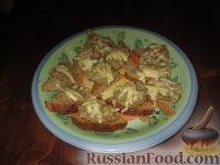 Фото к рецепту: Бутербродная масса из нута и грибов
