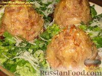 Фото к рецепту: Мясные стожки с секретом