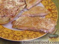 Фото к рецепту: Куриное филе, запеченное в картофельном кляре