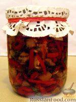 Фото к рецепту: Баклажаны «А-ля грибы»