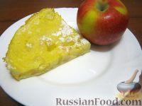Фото к рецепту: Шарлотка из яблок