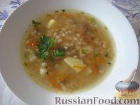 Фото к рецепту: Ароматный грибной суп (из сушеных грибов)