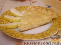 Фото к рецепту: Запеканка из яблок и творога