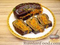 Фото к рецепту: Баклажаны квашеные, фаршированные морковью