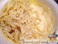 Фото приготовления рецепта: Творожная запеканка с макаронами и корицей - шаг №3