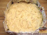 Фото приготовления рецепта: Творожная запеканка с макаронами и корицей - шаг №5