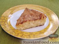 Фото приготовления рецепта: Творожная запеканка с макаронами и корицей - шаг №8