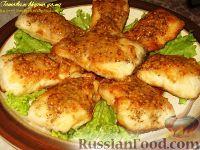 Фото к рецепту: Жареная щука с горчичным соусом