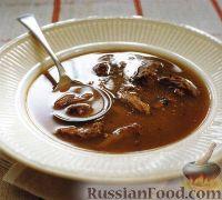 Фото к рецепту: Суп-бульон из бычьего хвоста