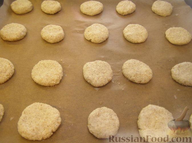 Рецепт: Печенье из овсяных хлопьев