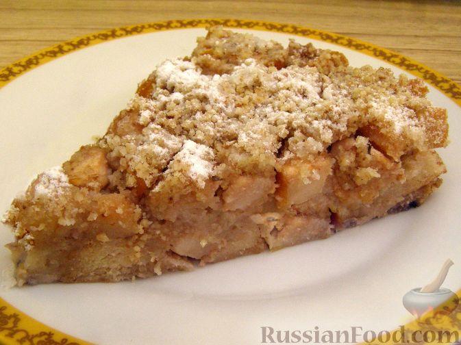 Рецепт Шарлотка с яблоками по-французски