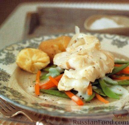 Рецепт Рыба, тушенная с луком