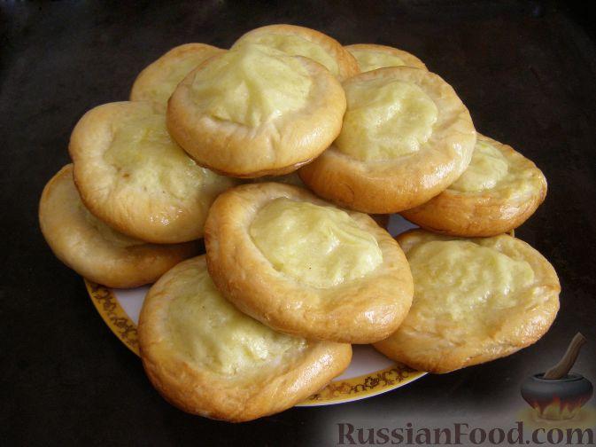 Рецепт Шаньги с картофелем