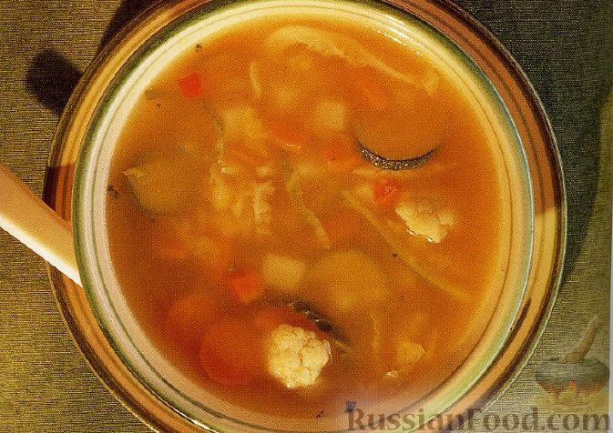 Рецепт Зимний овощной суп