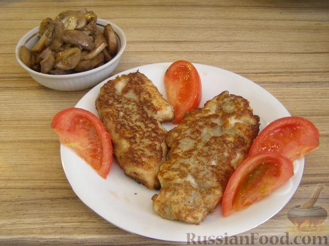 Рецепт Куриное филе в грибном кляре