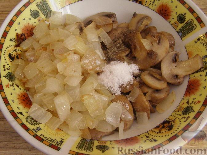 Фото приготовления рецепта: Запеканка с курицей и брокколи - шаг №3