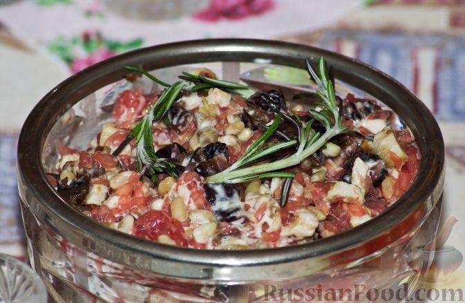 Рецепт Грейпфрутовый салат с курицей