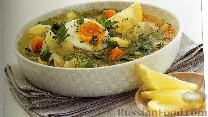 Рецепт Суп овощной с репой и шпинатом
