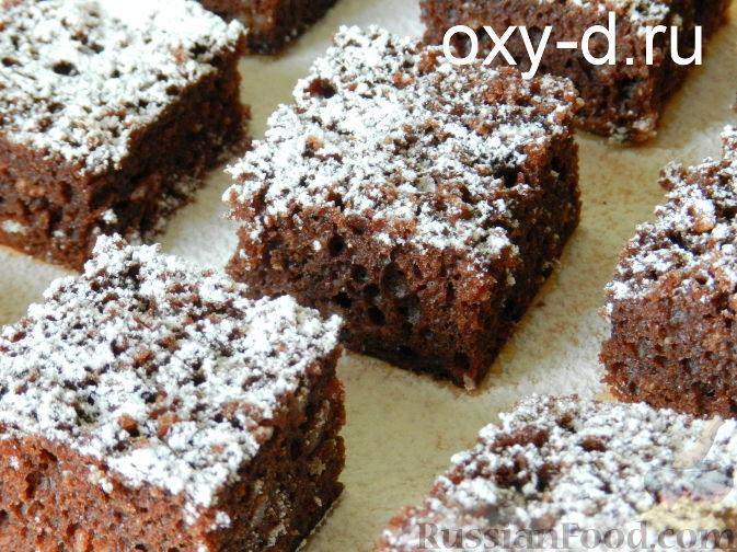 Рецепт Шоколадно-кокосовый брауни в мультиварке
