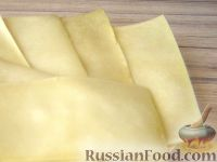 Фото приготовления рецепта: Пластины для лазаньи - шаг №13