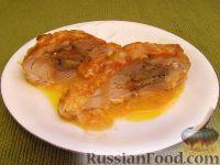 Фото к рецепту: Куриные бедрышки, фаршированные грибами