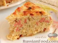 Фото к рецепту: Капустная запеканка с сыром (в мультиварке)