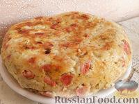 Фото приготовления рецепта: Капустная запеканка с сыром (в мультиварке) - шаг №5