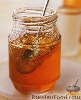 Фото к рецепту: Прозрачный яблочный джем