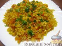 Фото к рецепту: Вегетарианский плов с овощами