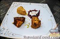 Фото к рецепту: Жареный сыр камамбер