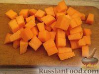 Фото приготовления рецепта: Каша тыквенная с пшеном (старинный рецепт) - шаг №2
