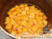 Фото приготовления рецепта: Каша тыквенная с пшеном (старинный рецепт) - шаг №3