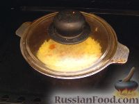 Фото приготовления рецепта: Каша тыквенная с пшеном (старинный рецепт) - шаг №8