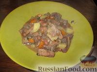 Фото к рецепту: Рубец с фасолью и картофелем