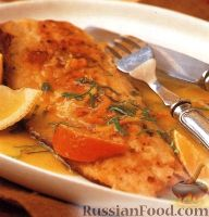 Фото к рецепту: Жареная форель с цитрусовым соусом