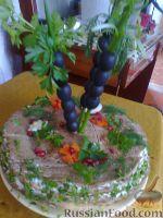 Фото к рецепту: Печеночный остров
