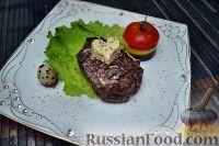 Фото к рецепту: Стейк из говядины
