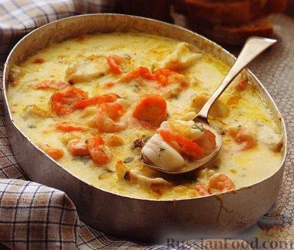 форель в сливочном соусе в духовке рецепт с фото