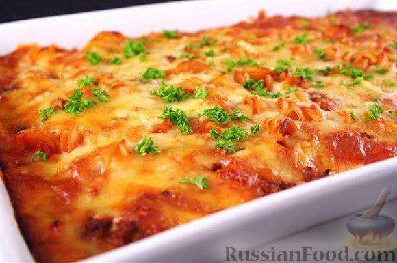 Рецепт Ленивая лазанья
